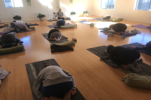 Yoga Class Heart and Soul